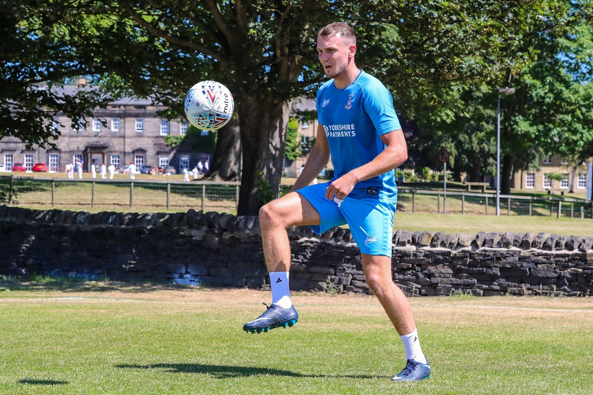 SHARP SHOOTER: Charlie Wyke has shown up well in the first week of pre-season training. Pic: Thomas Gadd