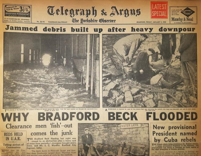 Telegraph & Argus Friday, January 2 1959