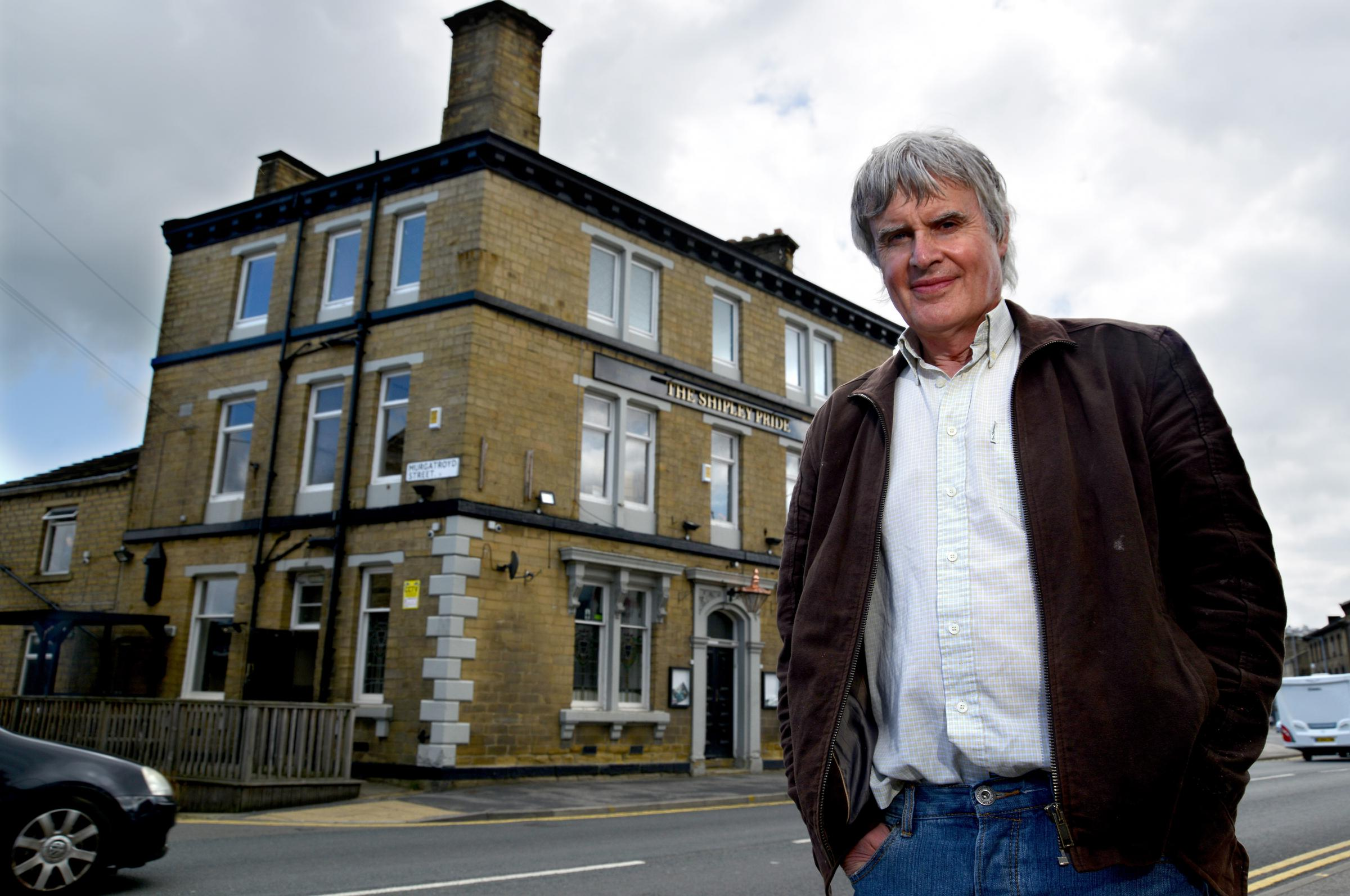 William Wagstaff, owner of numerous Bradford pubs including the Shipley Pride, which he is refurbishing ahead of its anticipated opening in Autumn