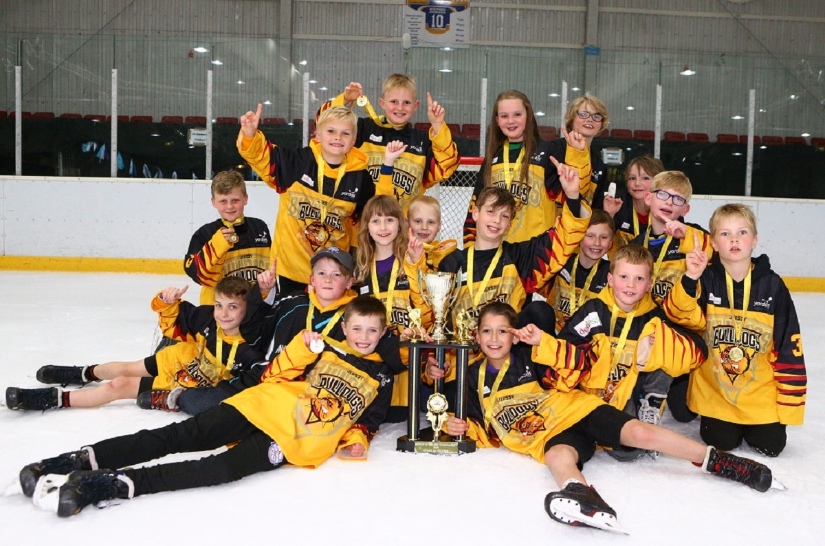 Bradford Bulldogs under-11s, who won the Kingston Tournament in Hull, also on a golden goal Picture: Myteam Photo