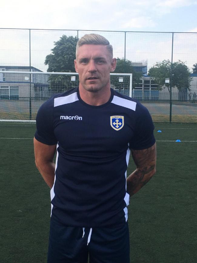 BACK AGAIN: Guiseley keeper Jon Worsnop