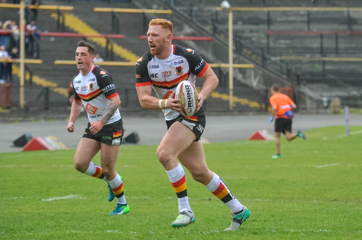 CONFIDENT: James Laithwaite says the Bulls are where they want to be at the top. Pic: Tom Pearson