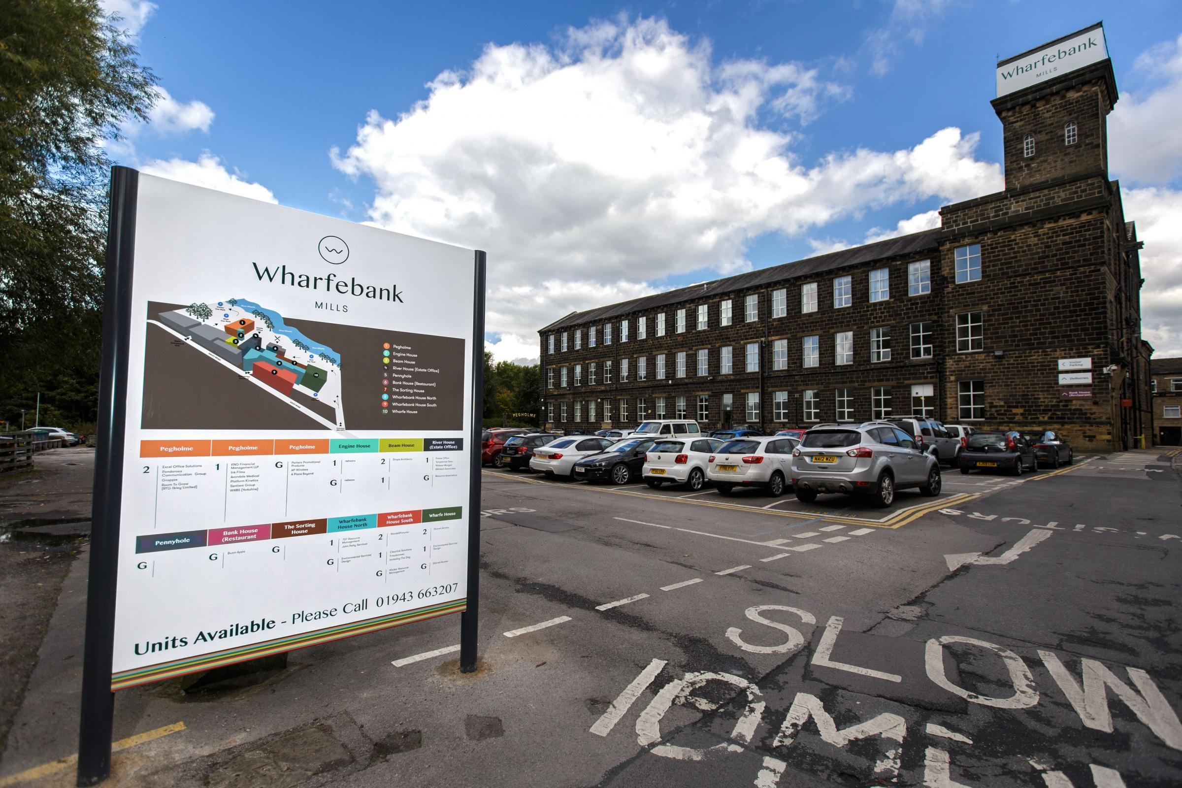 Wharfebank Mills at Otley is enjoying an 'influx' of new tenants following a £500,000 investment