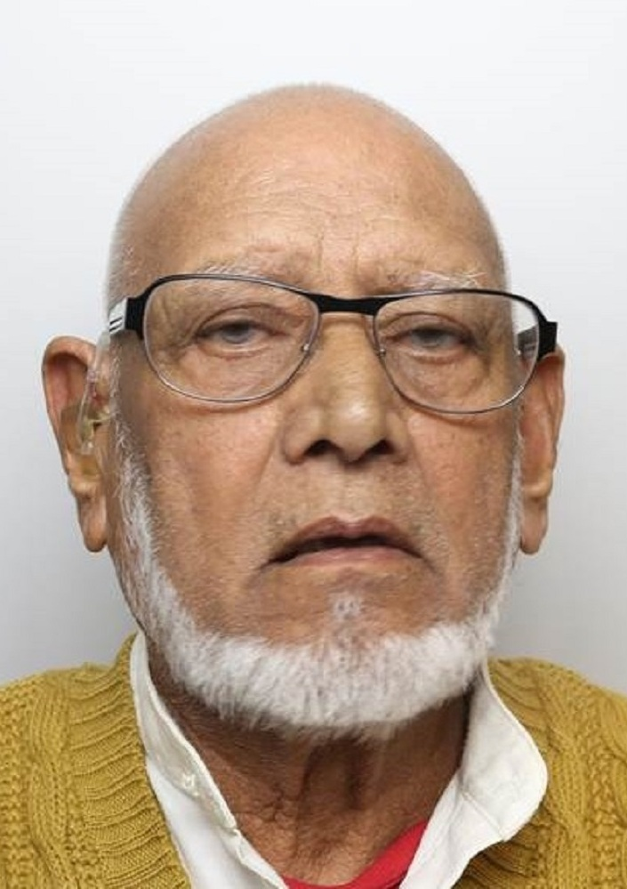 Ashraf Khan, 81, who was jailed for four-and-a-half years at Bradford Crown Court after admitting three offences of incest