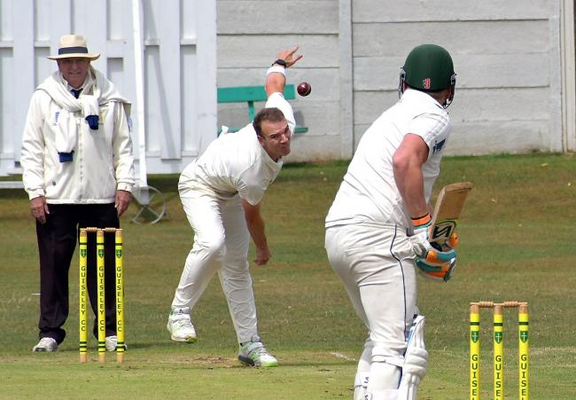 David Amos took 4-58 when Pool beat Otley in the reverse fixture and he will be hoping to inflict more pain on the league leaders this weekend Picture: Richard Leach