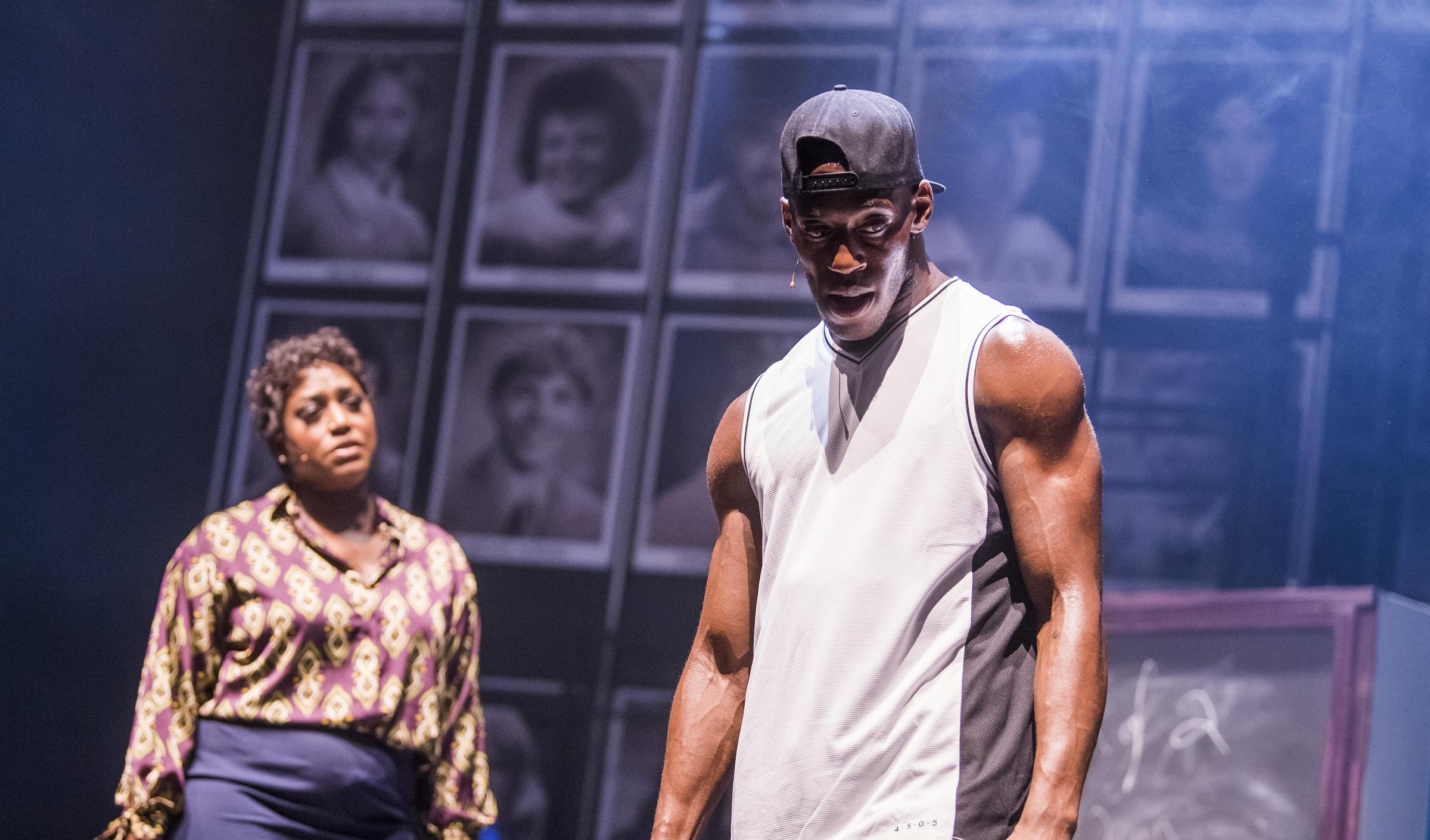 Mica Paris, left, in Fame the Musical. Picture: Tristram Kenton
