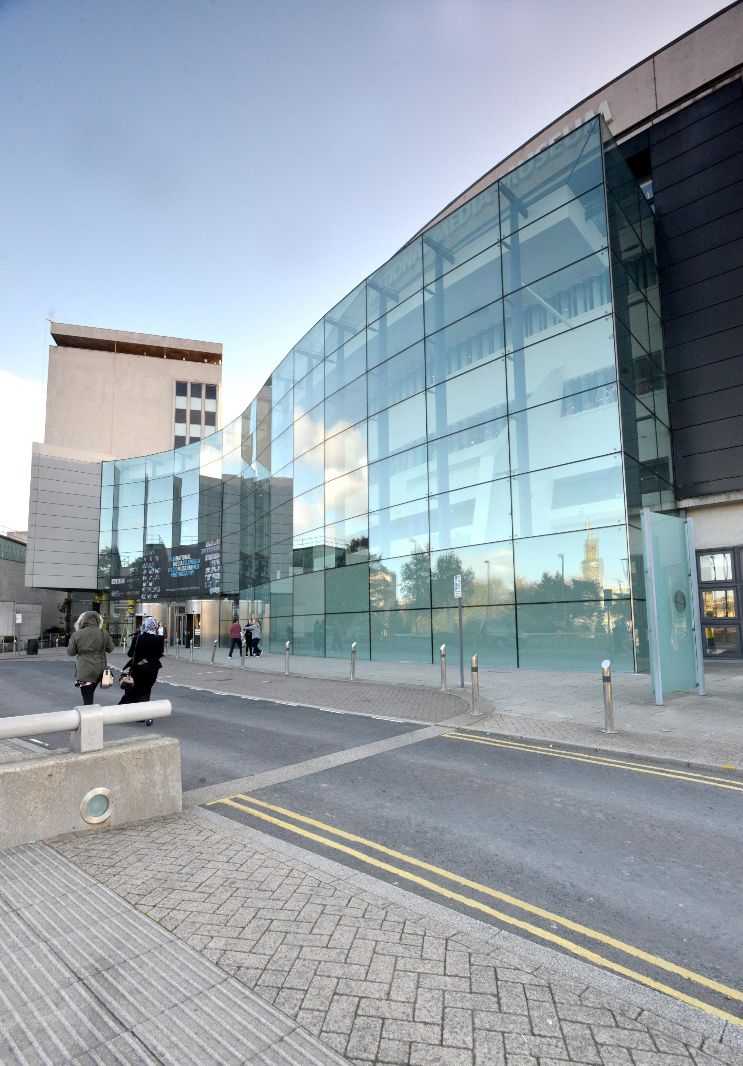 Images of the Nation media Museum in Bradford.