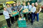 Staff from local Co-operative stores have teamed up with the Real Junk Food Project, based in Pudsey