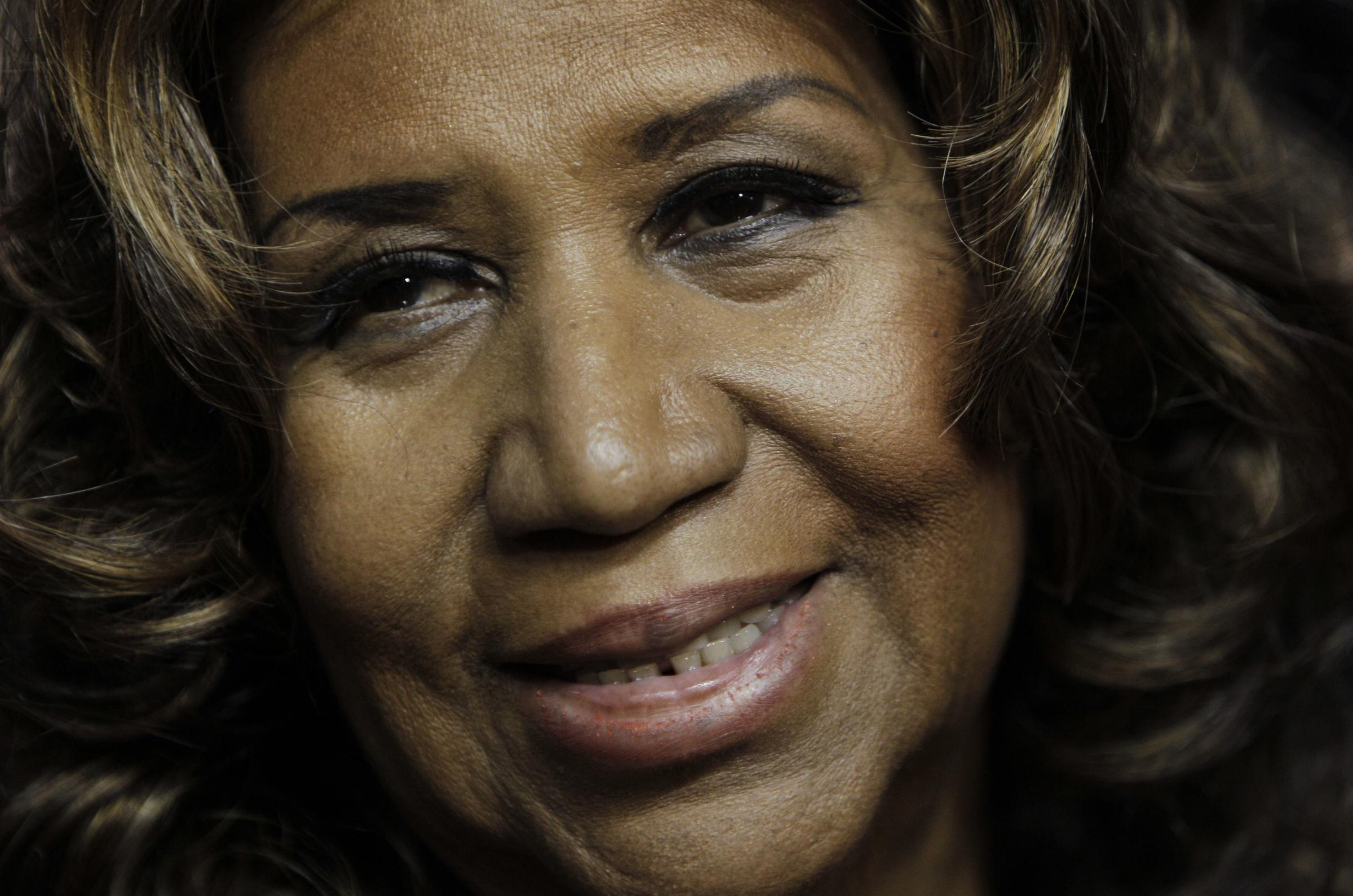 Aretha Franklin who has died aged 76