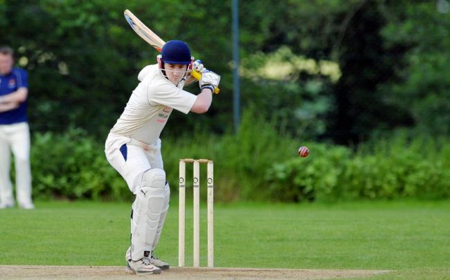 HOT SHOT: Collingham's Charlie Swallow is just two short of 800 runs for the season