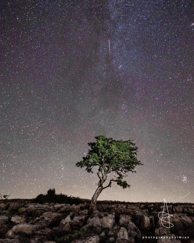 Perseid meteor shower by Imran Mirza - T&A Camera Club