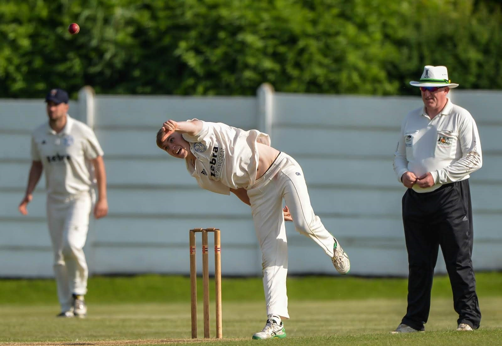 Yorkshire spinner James Logan. Picture: Ray Spencer