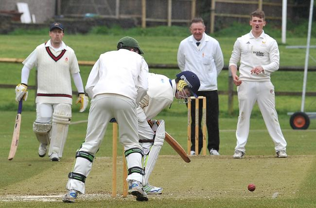 Horsforth bowler Ryan Sharrocks is hoping to reach 50 wickets for the season