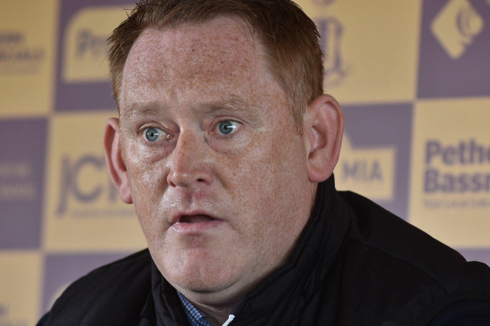 David Hopkin is not worried about delivering his blueprint to long-suffering Bantams fans Picture: Mike Simmonds