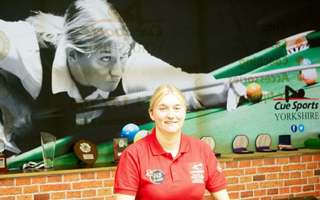 Rebecca Kenna will be competing in the LITEtask UK Women's Snooker Championship