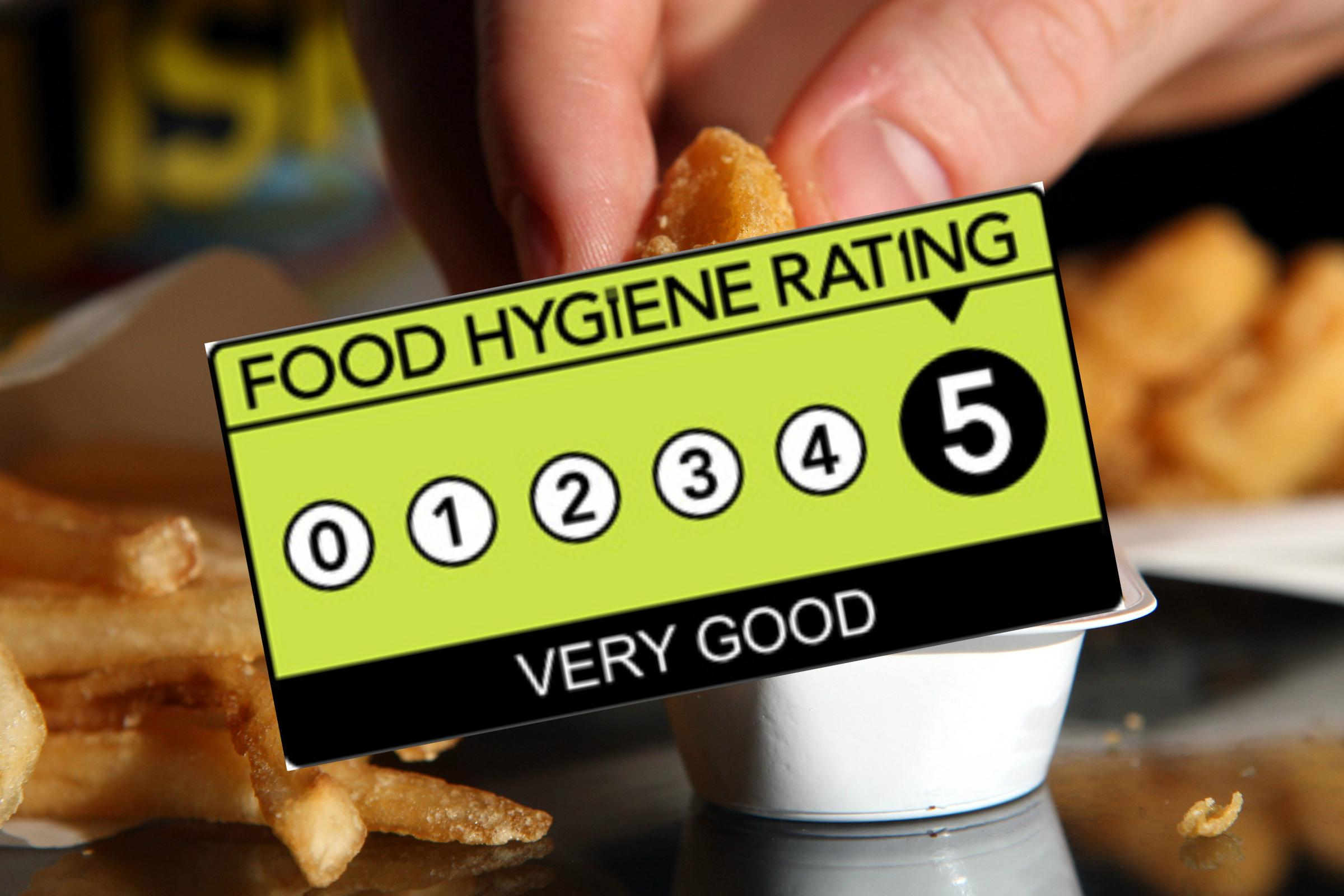 Food Hygiene Ratings For Every Takeaway Cafe Restaurant