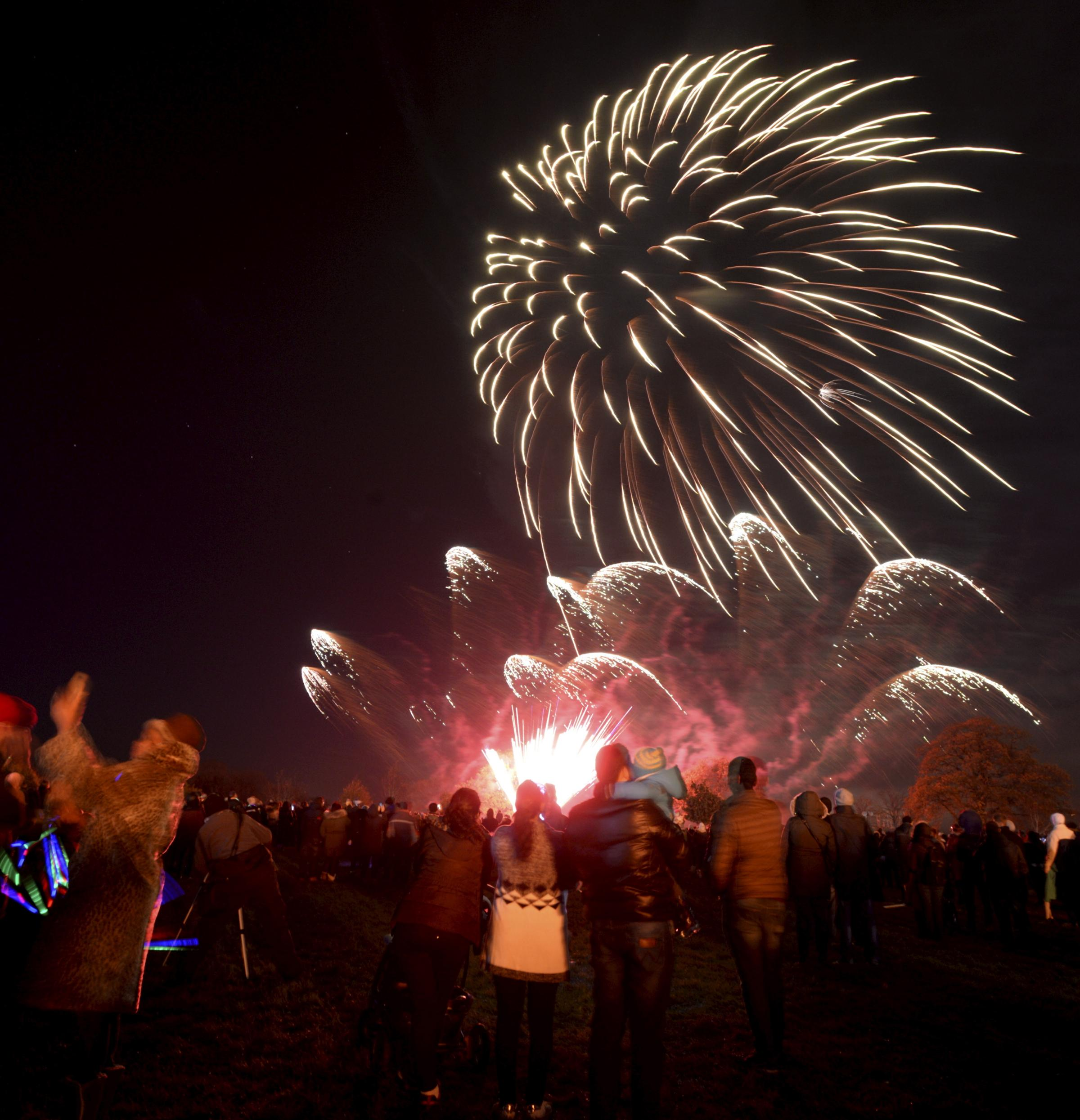 Should fireworks be restricted to Bonfire Night events? Picture: Paul Nicholls