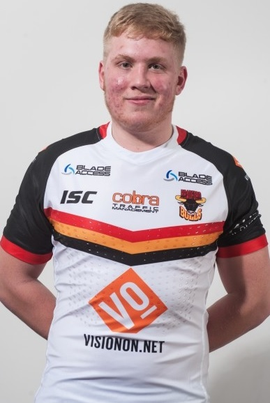 Teenager Oliver Wilson has been named in Bulls' 19-man squad for this Sunday's match