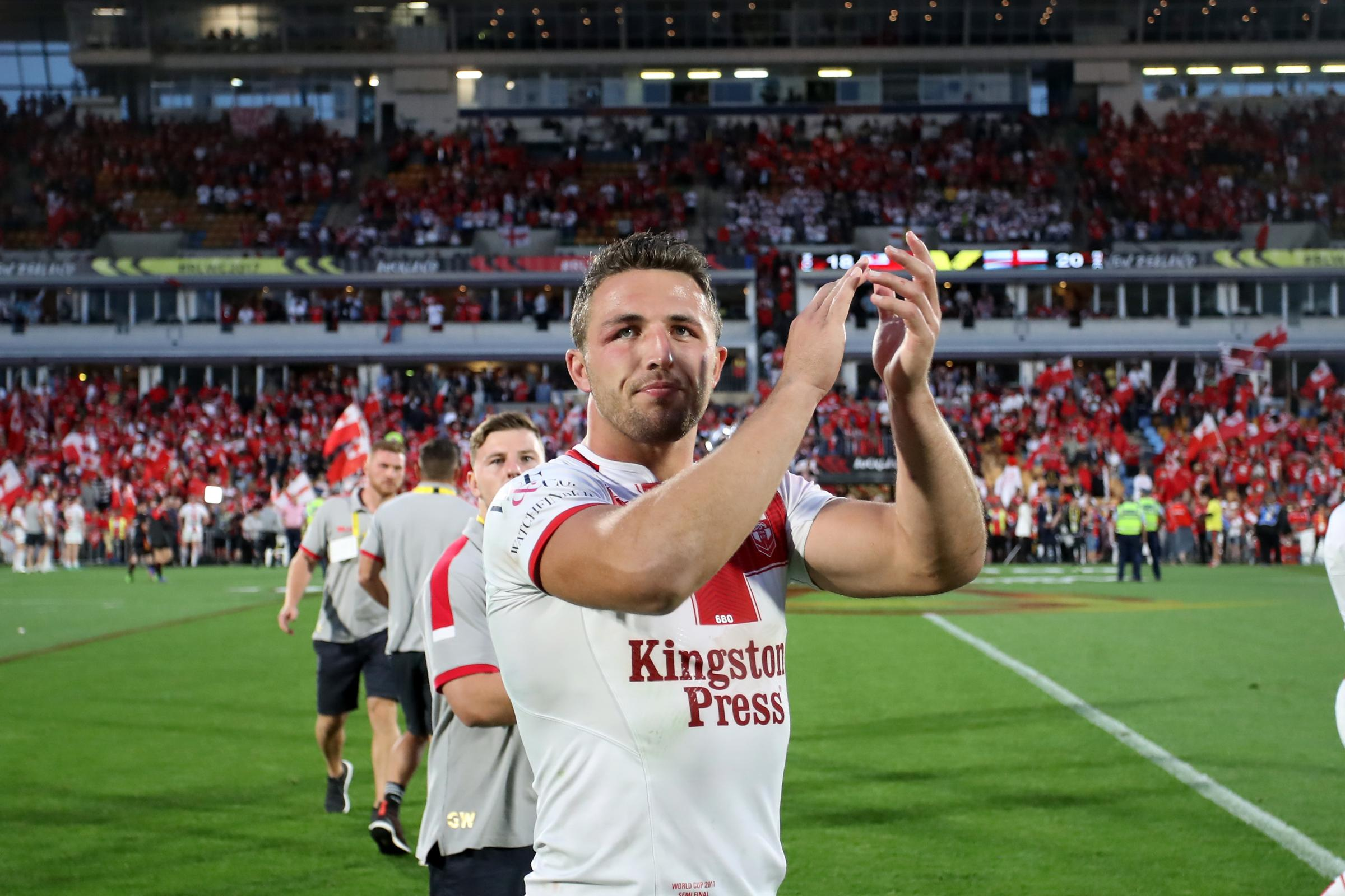 Sam Burgess has been cleared in a sexting scandal