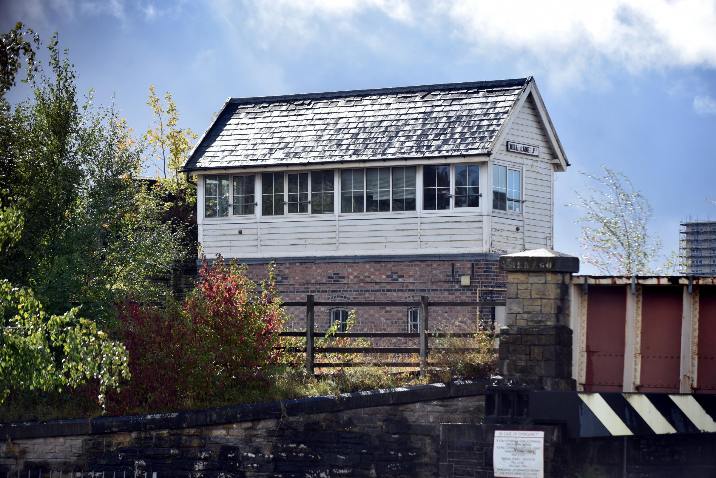DAYS ARE NUMBERED: The signal box outside Bradford known as Mill Lane Junction is to close and its duties to be transferred to York