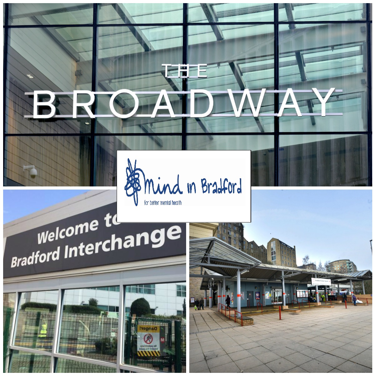Mind in Bradford will be in The Broadway to talk about what it does and earlier the charity was at Bradford Interchange and Bradford Forster Square Station.