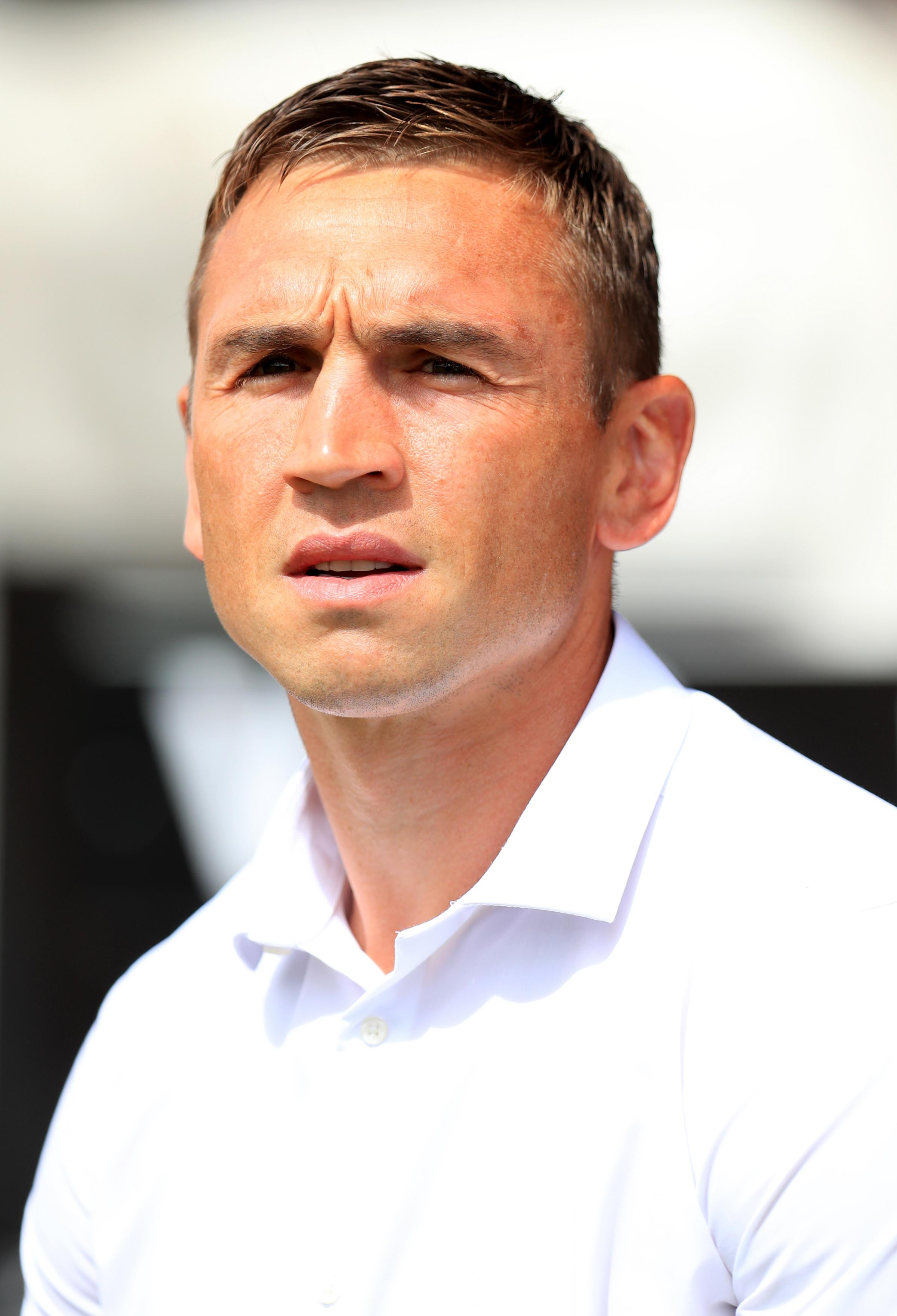 Leeds Rhinos' director of rugby Kevin Sinfield.