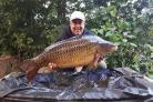 Allan Allcock was the winner of this year's Knotford Carp Cup with a fish weighing 34lbs 9oz
