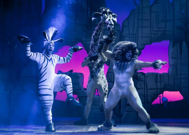 Madagascar the Musical comes to the Alhambra Theatre, Bradford starring Matt Terry. Photo: Scott Rylander