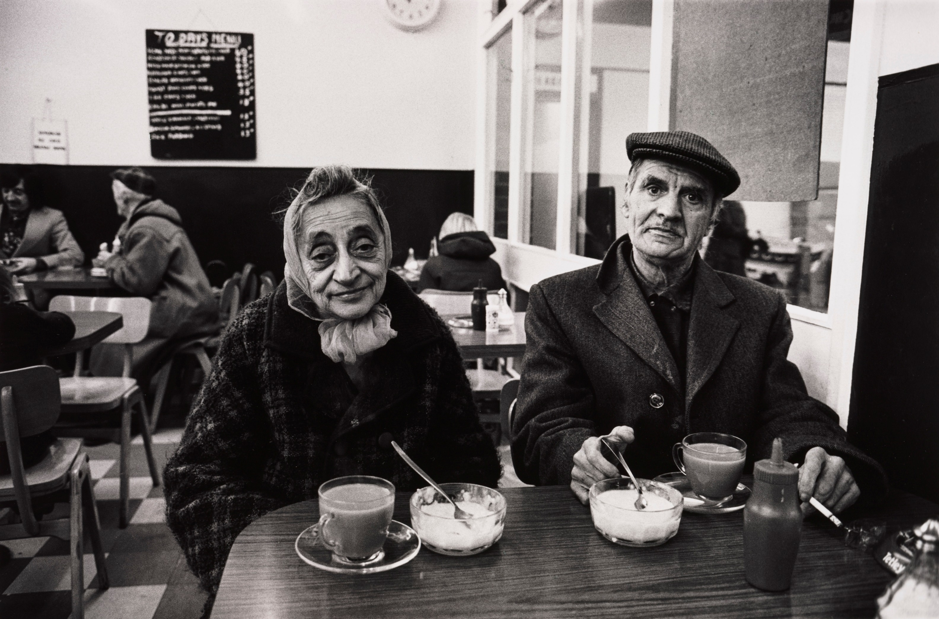 Don McCullin's black and white photographs reveal humanity through difficult times