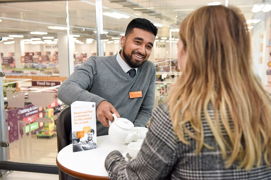 Sainsbury's trials new Talking Tables scheme