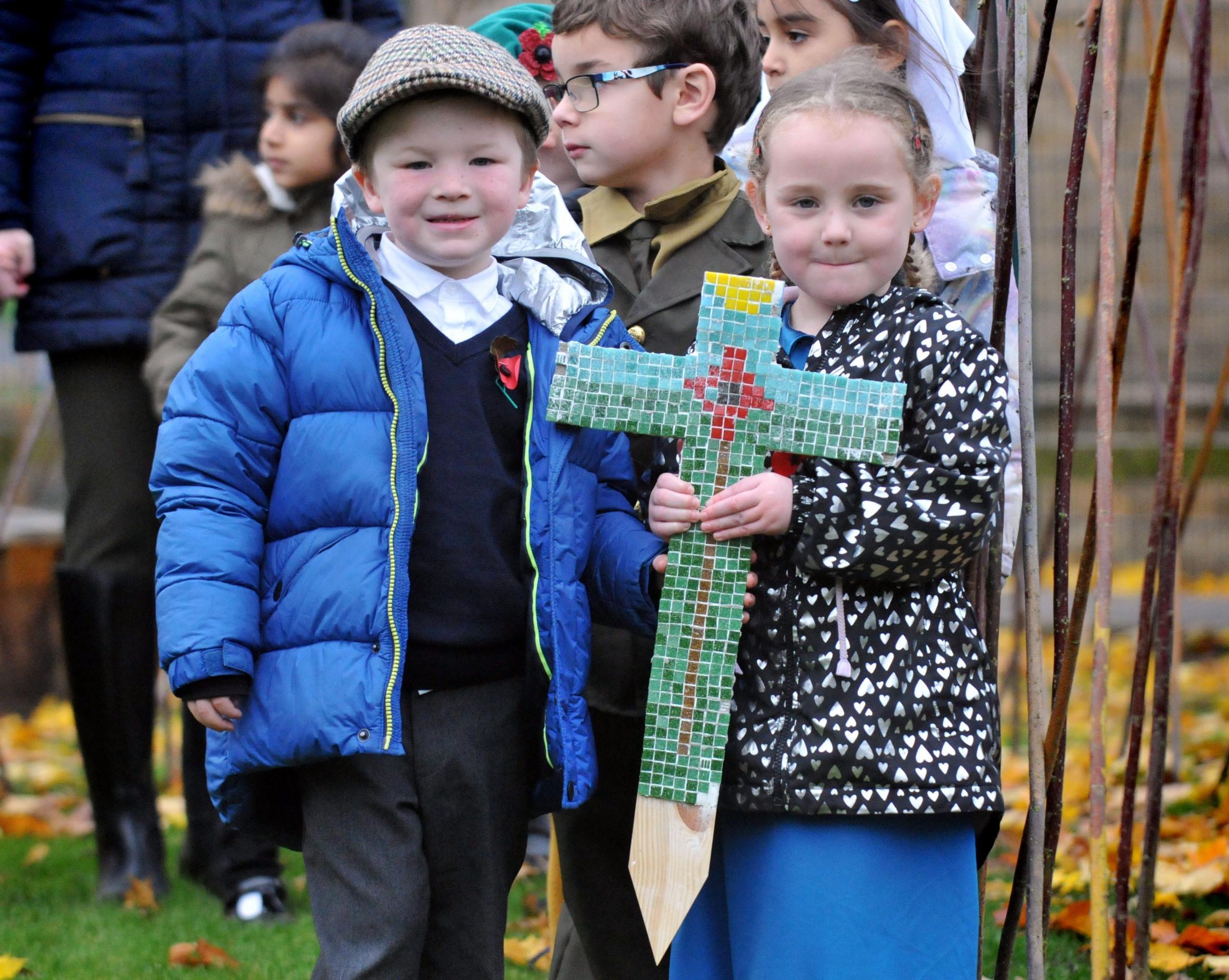 Wilsden school children remember the fallen