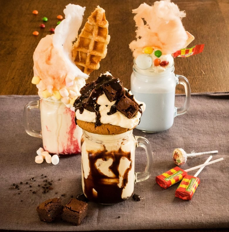 Toby Carvery's freakshakes have high levels of sugar. Pic credit: Toby Carvery