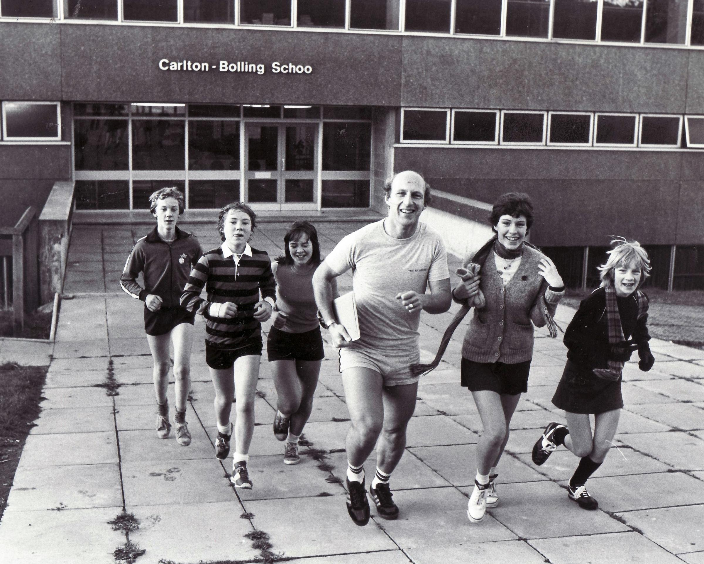 Headmaster Mervyn Flecknoe at Carlton Bolling October 1982