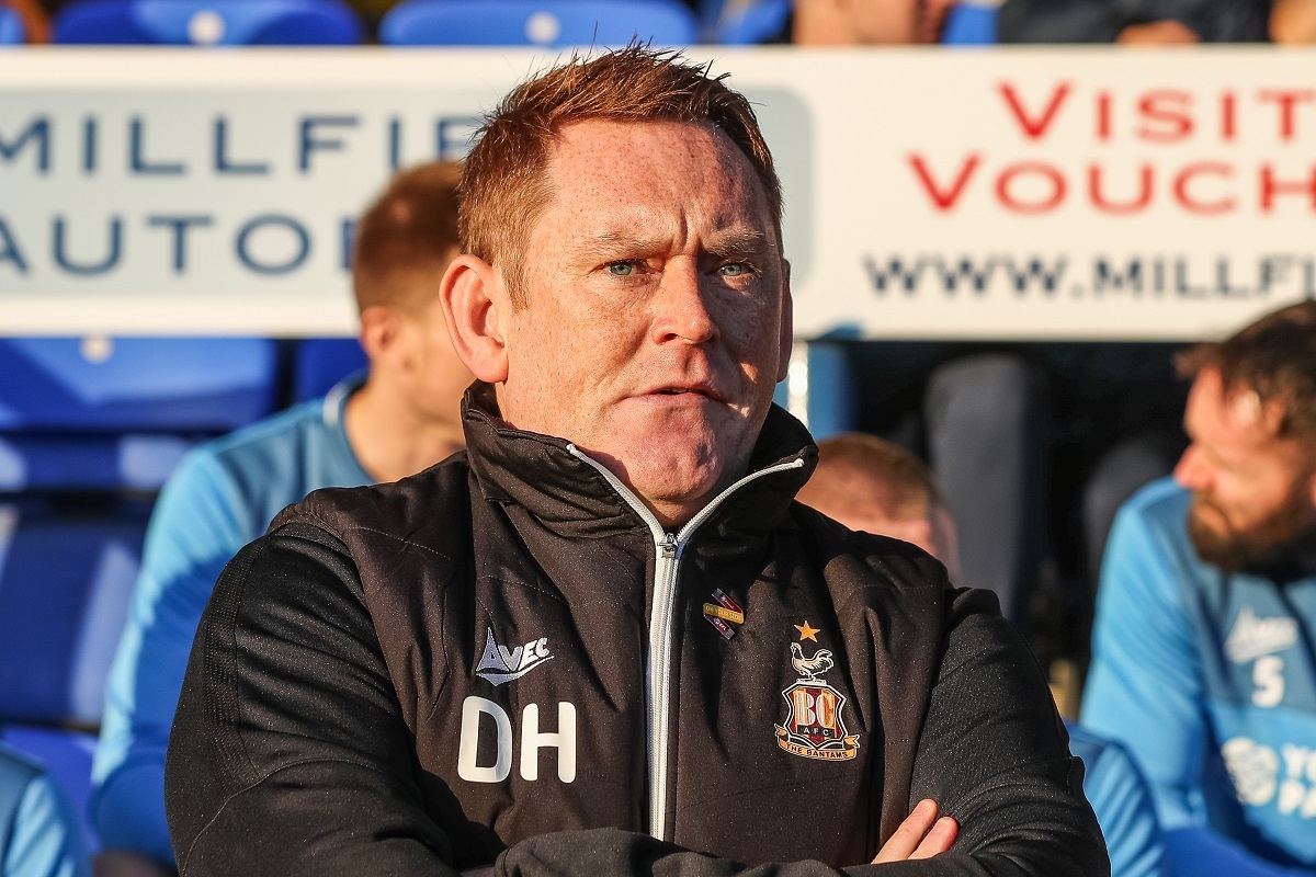 David Hopkin says City must be harder to break down if they are to beat the drop. Pic: Thomas Gadd