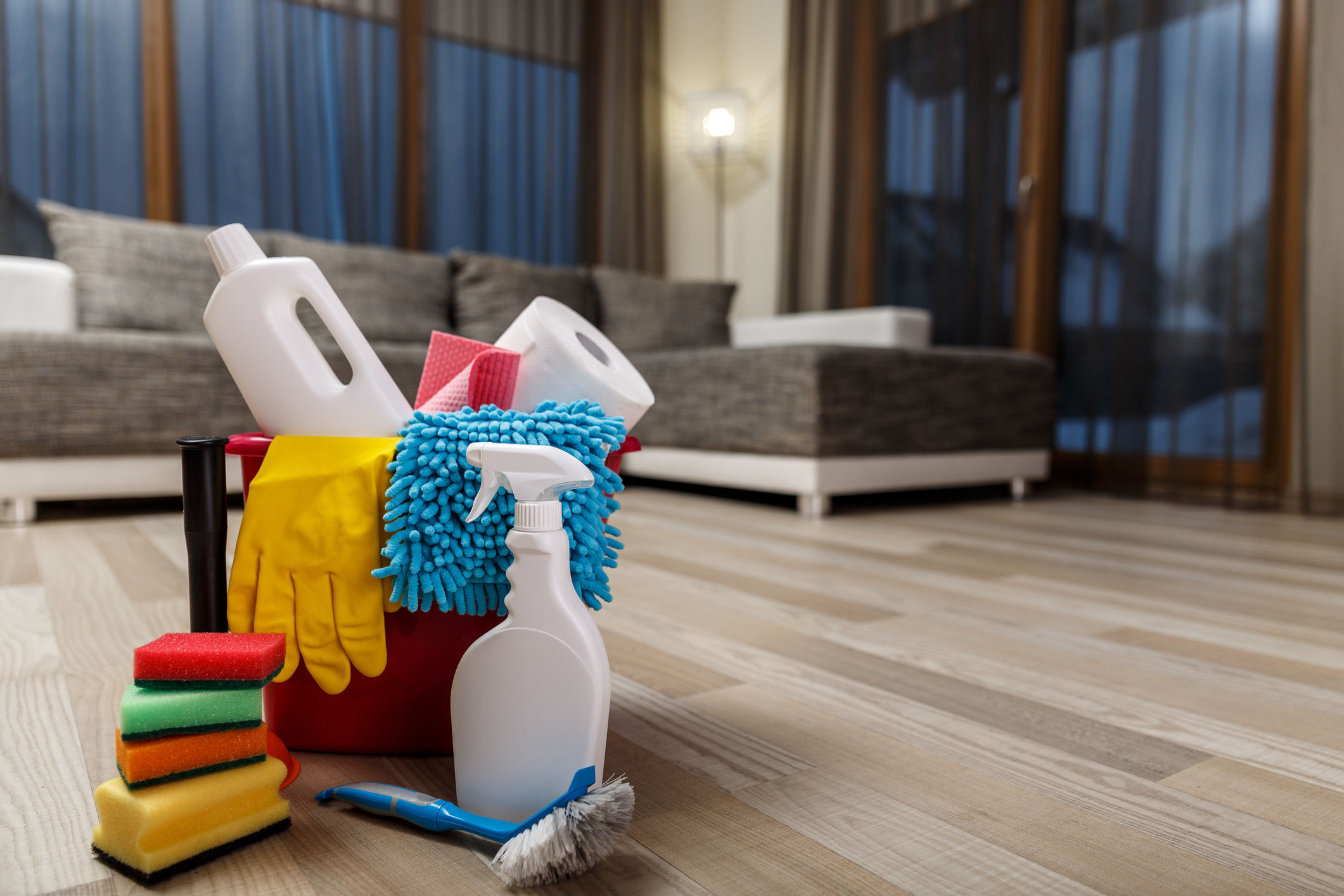 Can watching someone clean have a soothing effect on the brain? Picture: Thinkstock/PA