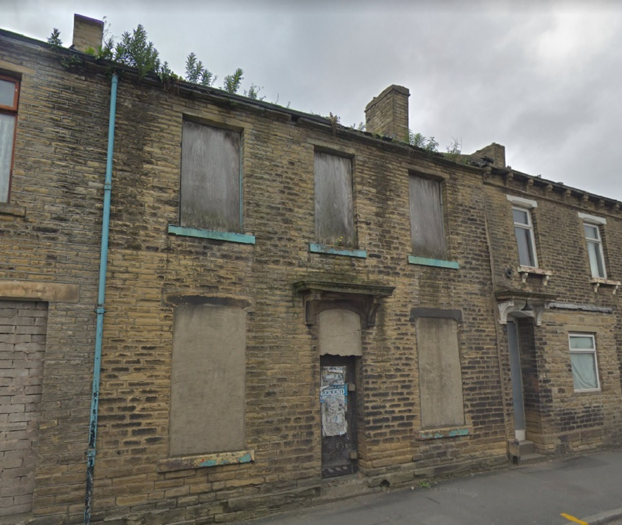 An empty property on Carlisle Road in Manningham (June 2018)