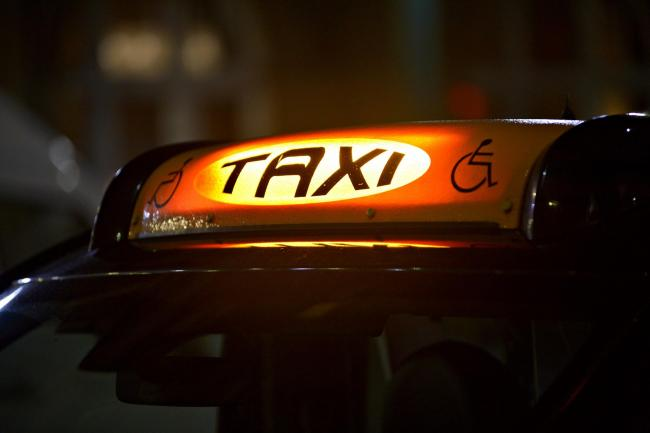 A general file picture of a taxi