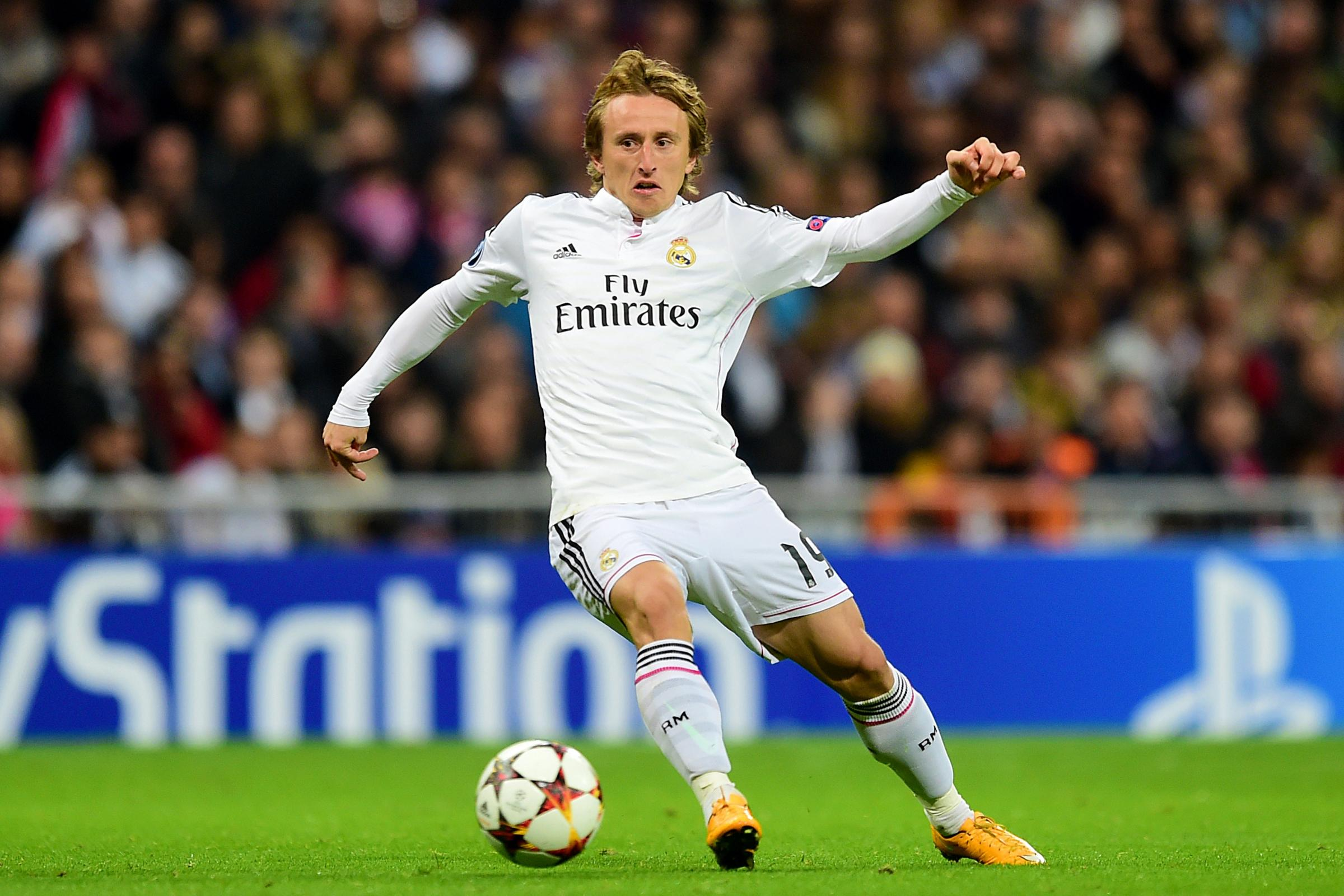 Luka Modric is likely to be rested for Real Madrid Copa del Rey tie