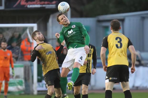 Action from Bradford (Park Avenue's) 2-2 draw with Southport. Picture: Alex Daniel Photography