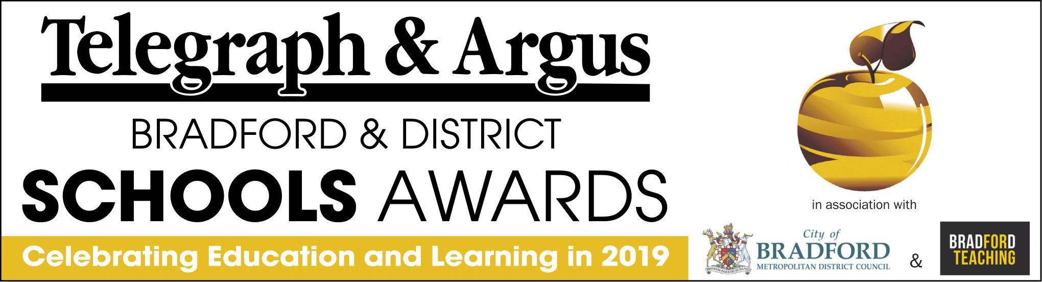 Bradford Telegraph and Argus: Schools Awards logo new
