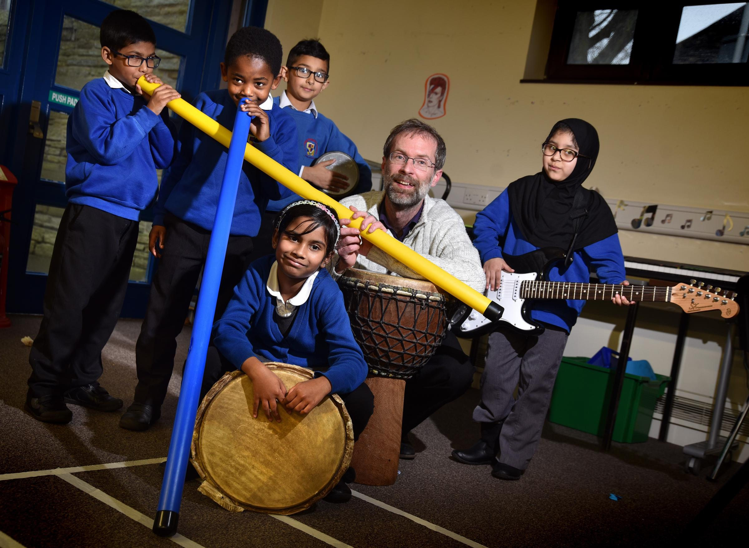 Music coordinator Jimmy Rotheram has been shortlisted in the final 50 for the world teacher of the year award for his work promoting and developing music at the school.