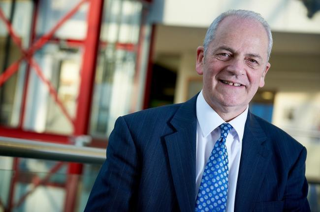 The University of Bradford Vice Chancellor Prof Brian Cantor