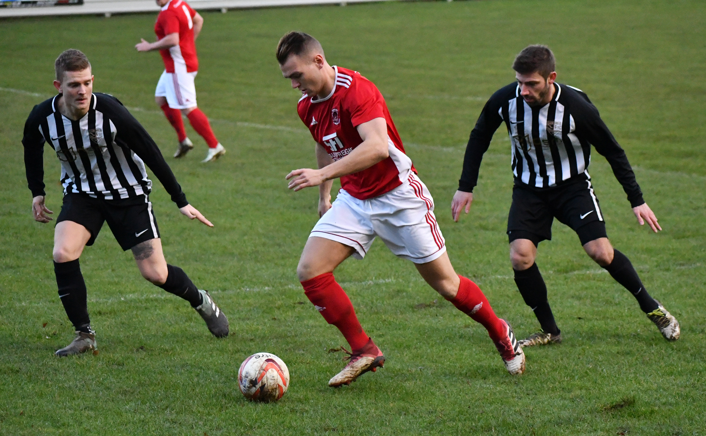 Luke Robinson's goals have helped keep Thackley's head above water this season