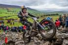 Dougie Lampkin won the Boxing Day trial at Howden Wood, Silsden. Picture: trialscentral.com