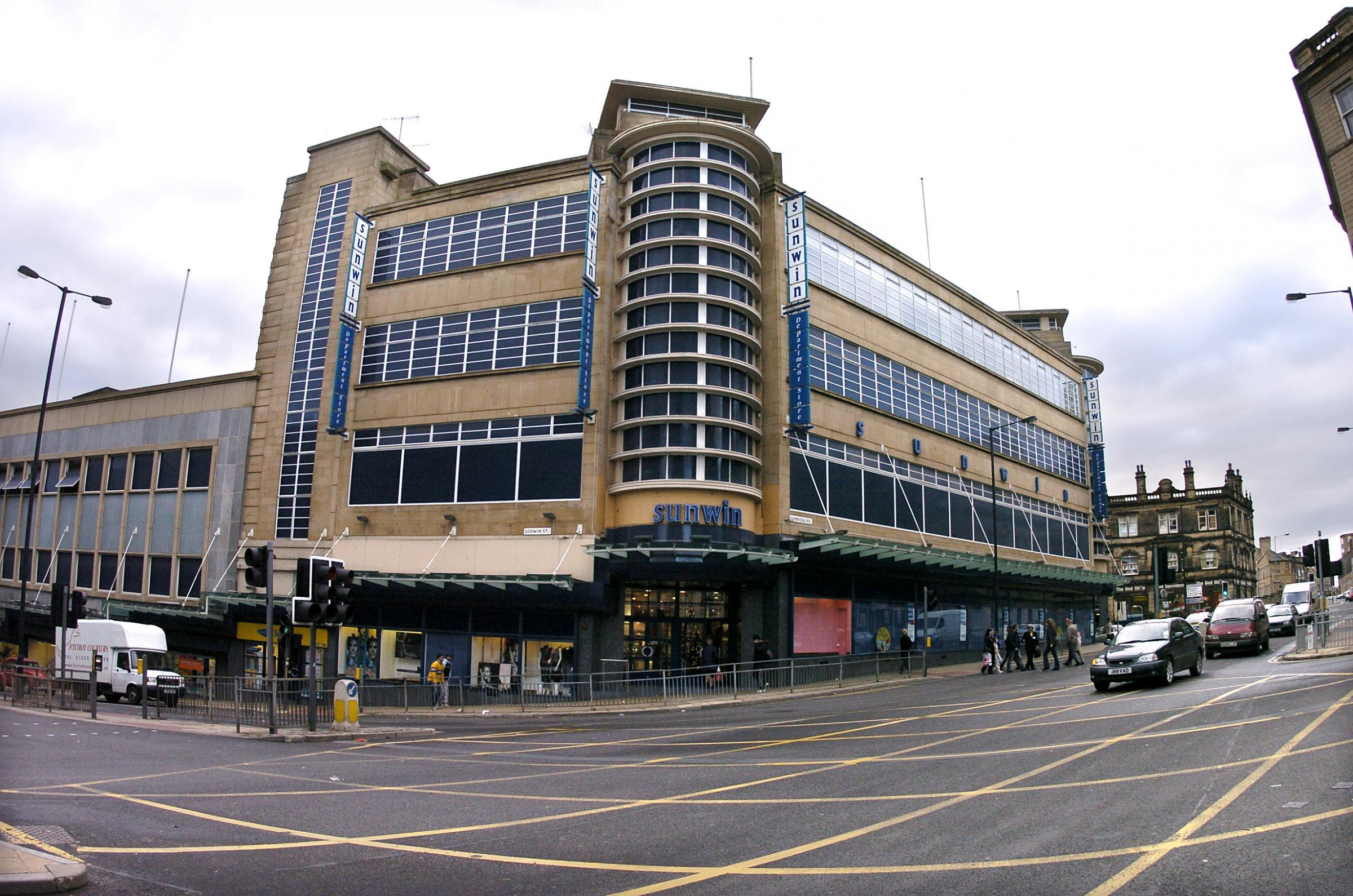 GRANT: Sunwin House, in Sunbridge Road, Bradford, pictured in 2006, is being looked into as a possible multi-use cultural hub