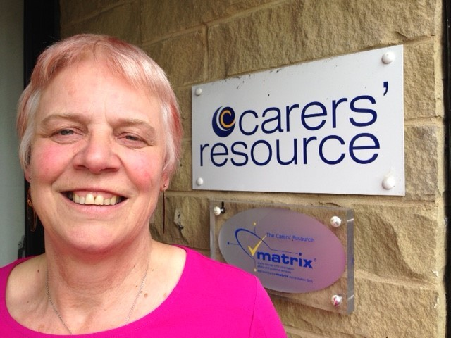 Chris Whiley of Carers' Resource