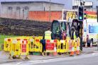 Ten-week long gas pipe improvement works are taking place from Monday in Westfield Lane, Idle