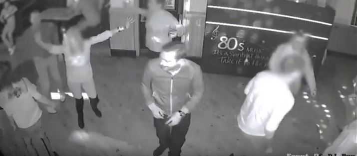 CCTV released after man's jaw is broken in Bradford bar