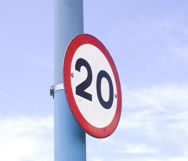 20mph zones are being rolled out in residential areas of Calderdale.