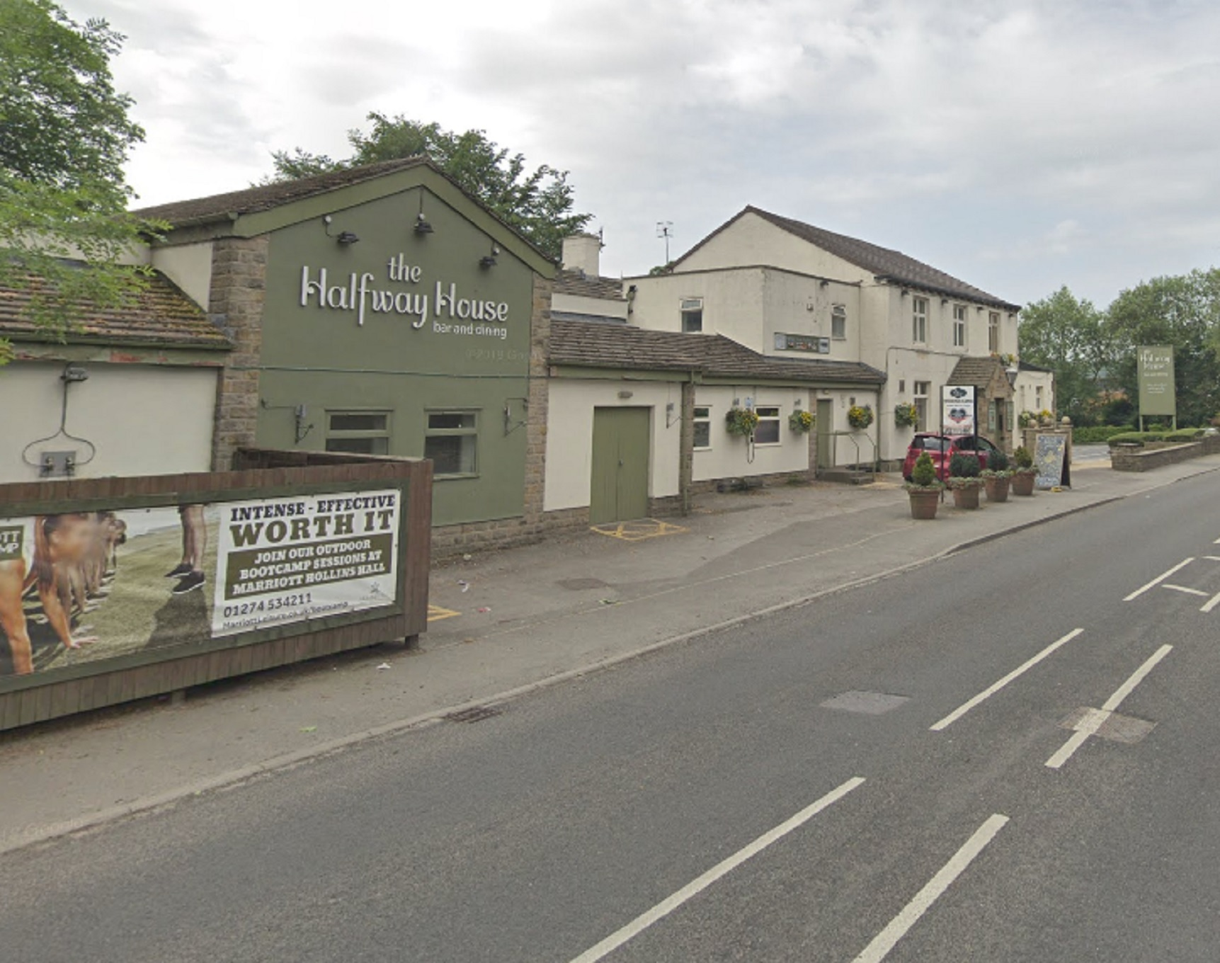 Halfway House in Baildon. Picture: Google Streetview